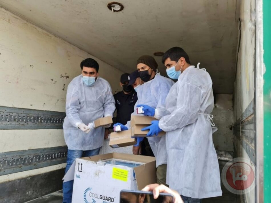 Israel autoriza el envío de las primeras vacunas a Gaza que tenía bloqueado