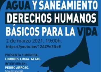 """Una veintena de organizaciones sociales impulsan la campaña """"Agua y saneamiento, derechos humanos básicos para la vida"""", en la Comunidad de Madrid"""