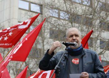 """Unai Sordo: """"Ahora sí toca subir el salario mínimo y derogar las reformas laboral y de pensiones para no salir de la crisis con más desigualdad, con más precariedad y con más pobreza"""""""
