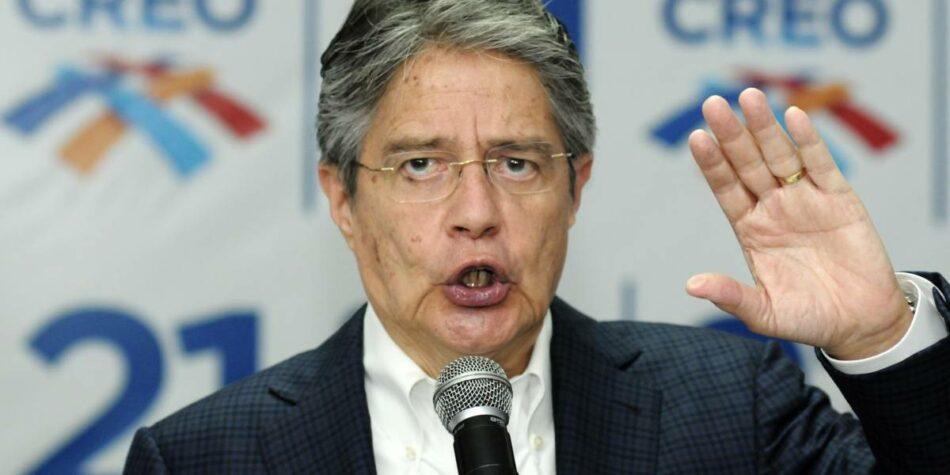 El Consejo Electoral de Ecuador concluye su recuento: Lasso irá a la segunda vuelta contra Arauz