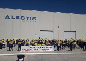 Piden readmisión de todos los trabajadores despedidos en Alestis Aerospace