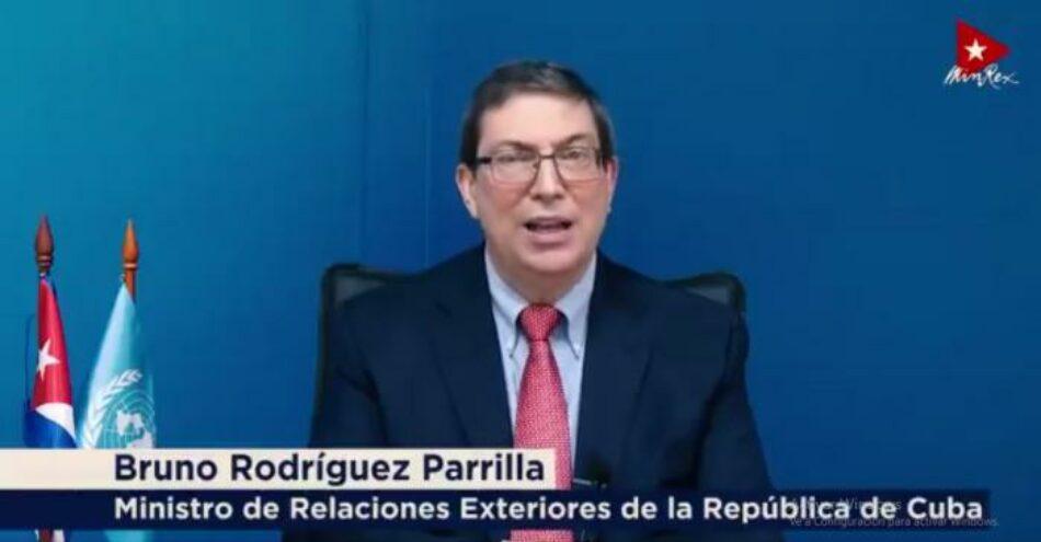 Conferencia de Desarme: Cuba insta a EE.UU. a revocar designación como Estado patrocinador del terrorismo