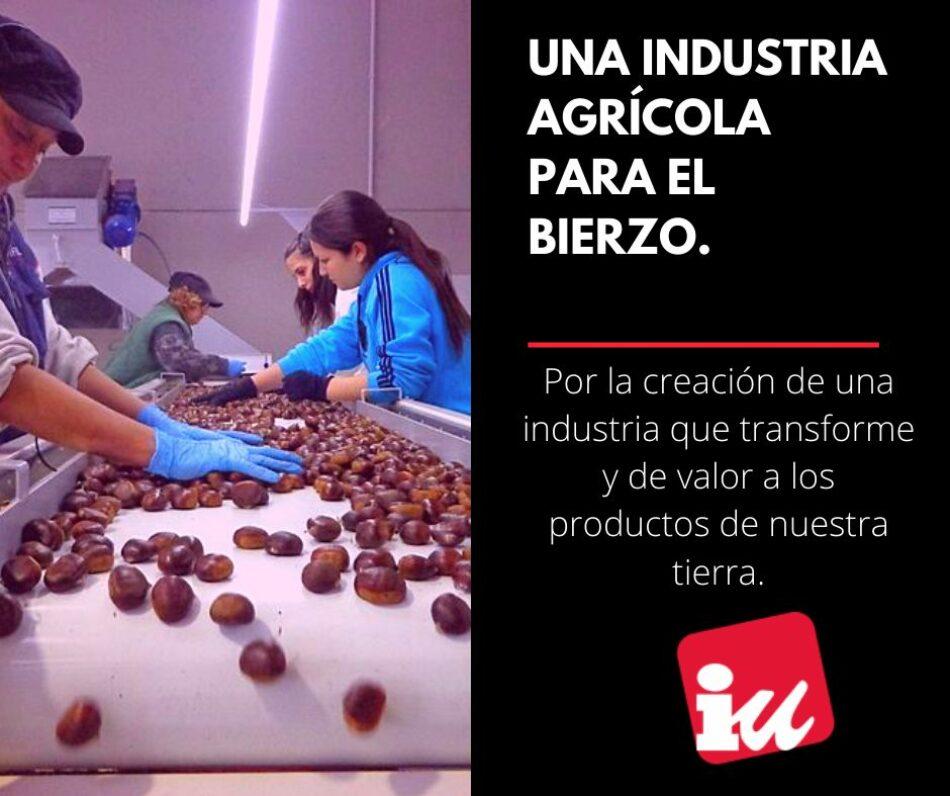 El PCE pide que se aclare el futuro del parque agroalimentario de El Bierzo