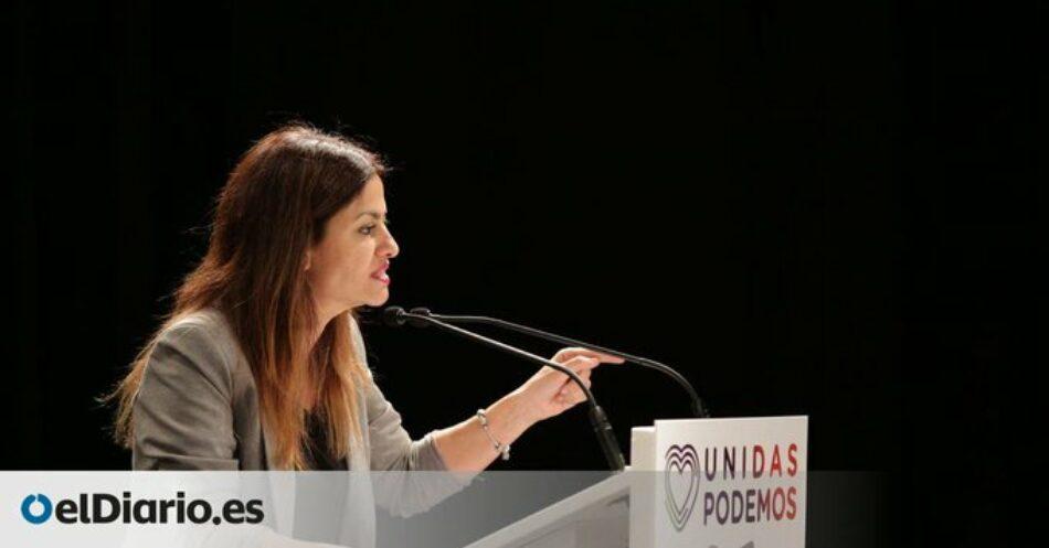 """Sira Rego señala que Cataluña """"necesita sí o sí un gobierno de izquierdas"""" y llama desde IU al PSC y a ERC a """"asumir el mandato progresista"""" que muestra el resultado electoral"""