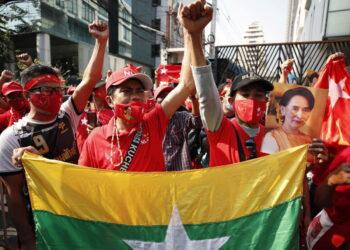 La Internacional antiimperialista repudia el golpe de Estado en Myanmar