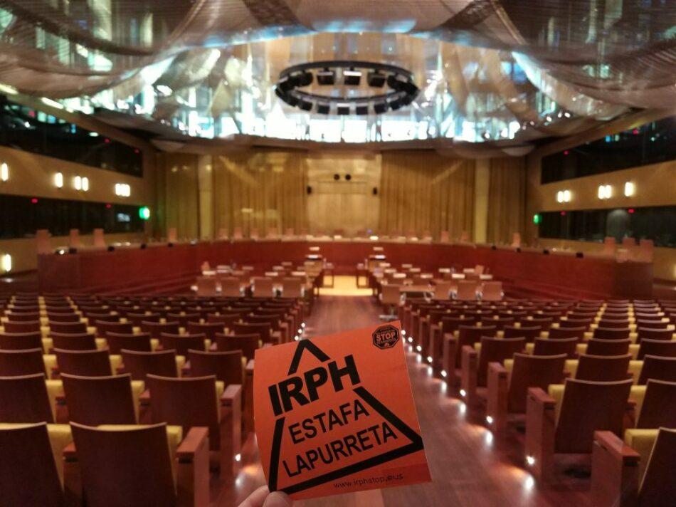 IRPH Stop Gipuzkoa exige al Gobierno español que defienda los intereses de las personas afectadas en el nuevo juicio al IRPH en Europa