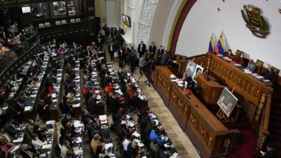 Parlamento venezolano rechaza injerencia de Bruselas