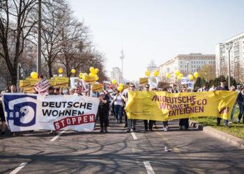 Berlín le declara la guerra al capital financiero y reclama su derecho a la vivienda