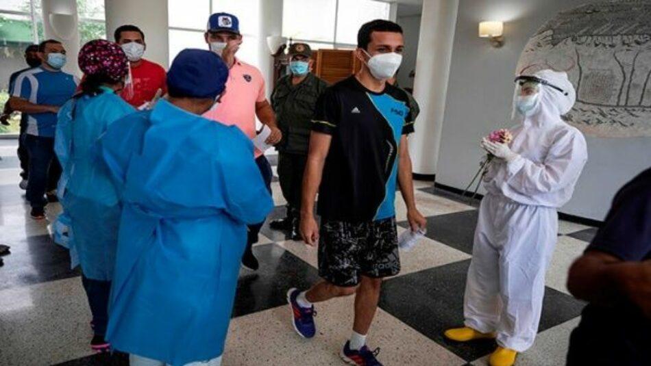Venezuela mantiene alta tasa de recuperación del coronavirus