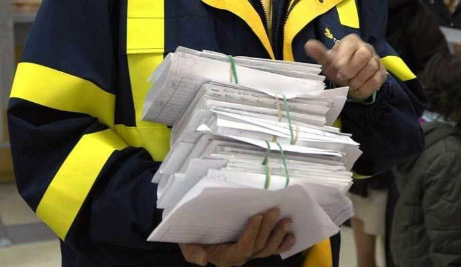 CGT Correos Barcelona: «El voto por correo pone en peligro la salud de plantilla y ciudadanía»