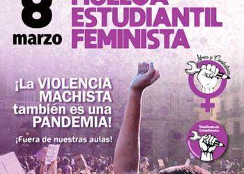 8 de marzo: huelga estudiantil feminista