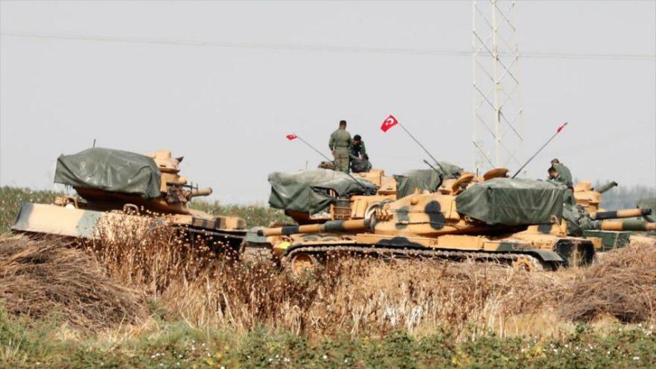 Turquía evacúa tres de sus puestos militares en Alepo, Siria