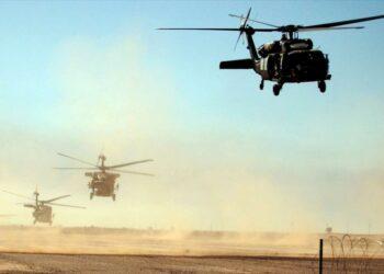 """Alertan sobre maniobras """"peligrosas"""" de helicópteros de EEUU en Irak"""