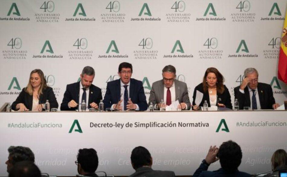 """Unidas Podemos considera un """"auténtico escándalo"""" el nuevo decreto de la Junta de Andalucía porque sigue """"profundizando en la desregulación ambiental"""