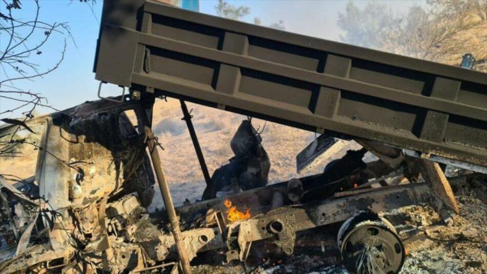Tres muertos en Ain Al-Asad; EEUU recurre a helicópteros españoles