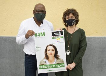 La coalición municipalista y verde encabezada por Recortes Cero y el PCAS presenta una lista llena de activistas y profesionales destacados