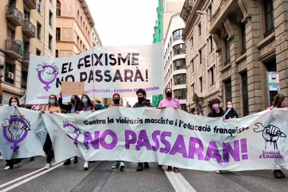 8M: Huelga estudiantil feminista masiva y miles de estudiantes en las calles. ¡Ni la violencia machista ni la represión nos callarán!