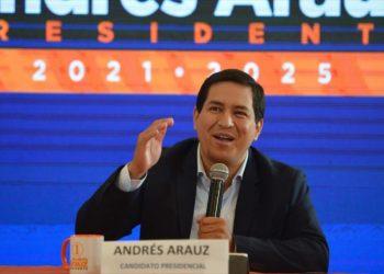 Arauz lidera encuestas ante Lasso de cara a balotaje en Ecuador