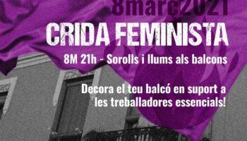 8M: Crida Feminista / Manifestació Estàtica