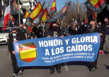 Denuncian en Europa la permisividad de Madrid con manifestaciones de extrema derecha y expresiones de intolerancia