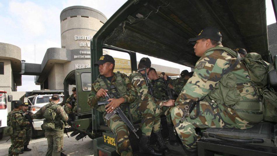 Venezuela denuncia que Colombia envía tropas militares a la frontera para proteger de la persecución a sus «grupos irregulares armados»