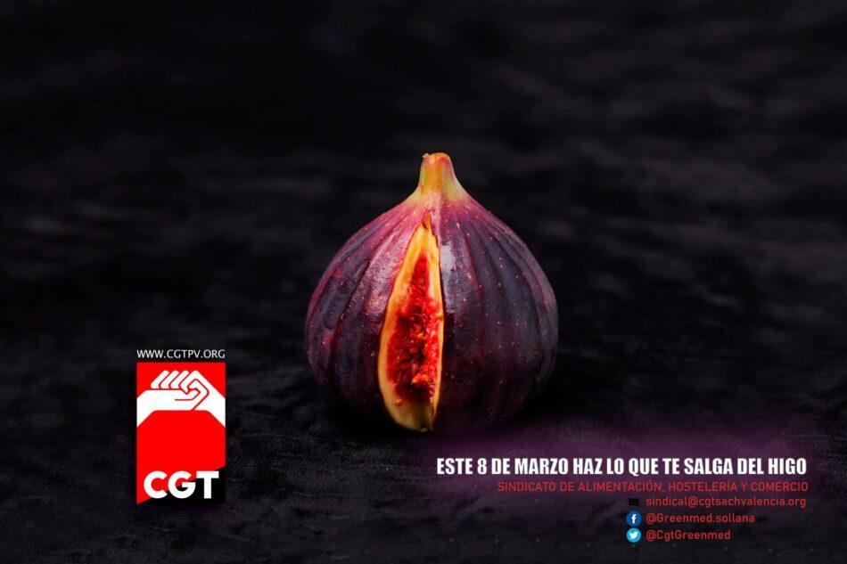 CGT del País Valencià y Murcia anuncia que sigue adelante con las movilizaciones del 8M