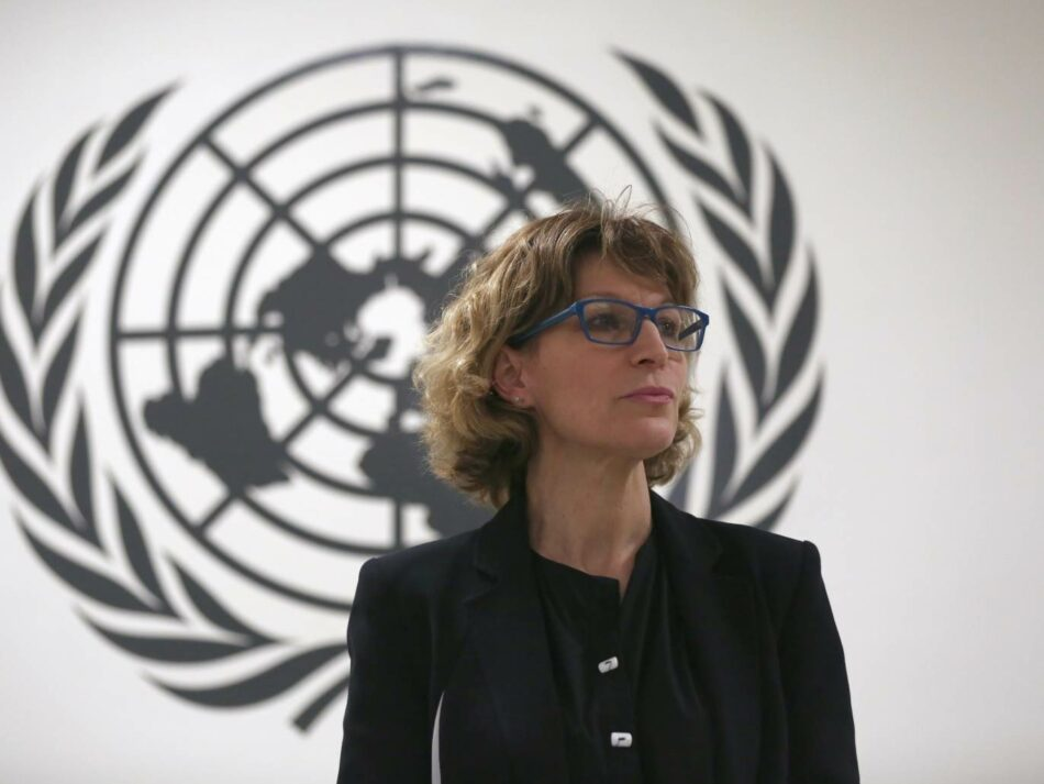 Confirman amenaza saudita de muerte a Agnès Callamard