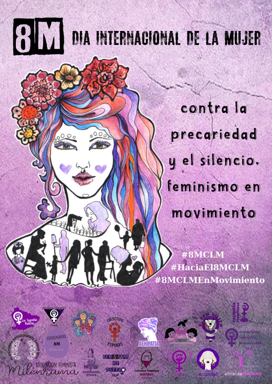 Un año más las mujeres del Movimiento Feminista de Castilla-La Mancha decimos que no hay futuro si este no es feminista
