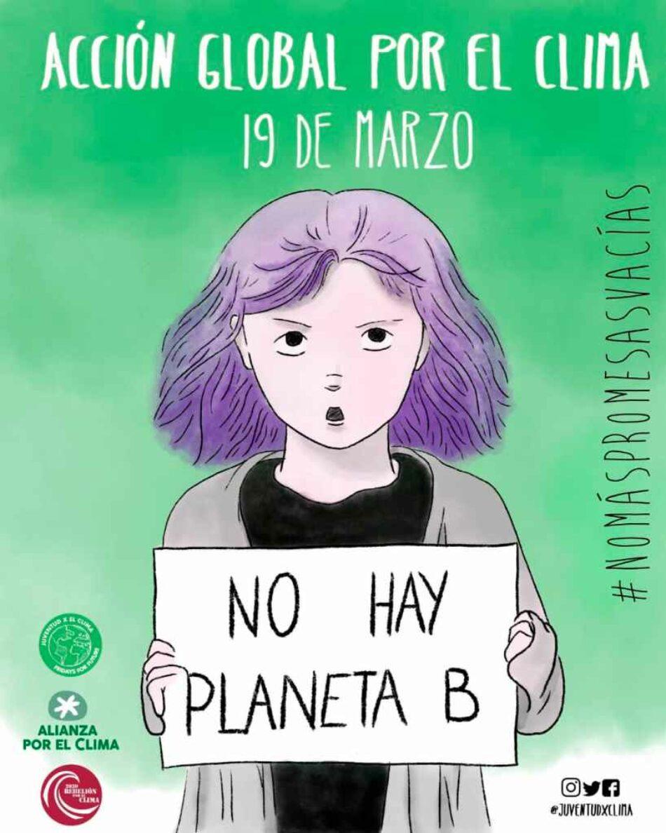 """""""No más promesas vacías"""": Llamamiento a una «Acción Global por el Clima» el 19 de marzo"""