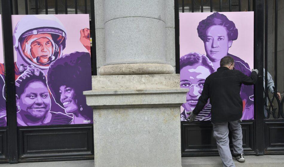 El Ministerio de Igualdad inaugura para el 8M un mural en homenaje a todas las mujeres