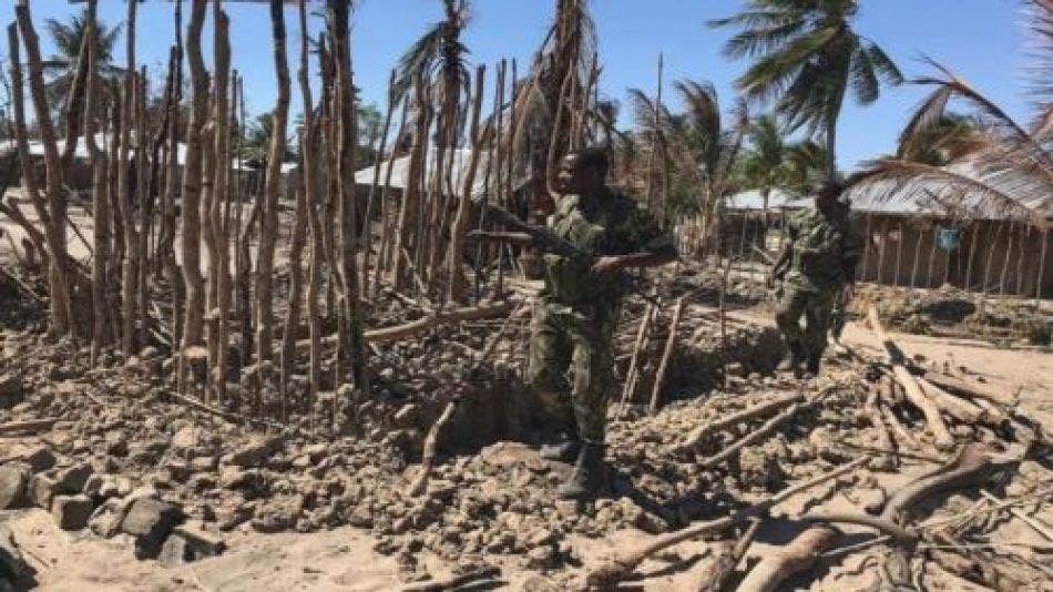 La guerra incendia el norte de Mozambique