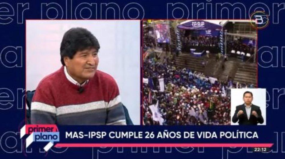 Evo plantea gran acuerdo nacional entre trabajadores, empresarios, gobiernos subnacionales y Estado para recuperar la economía de Bolivia