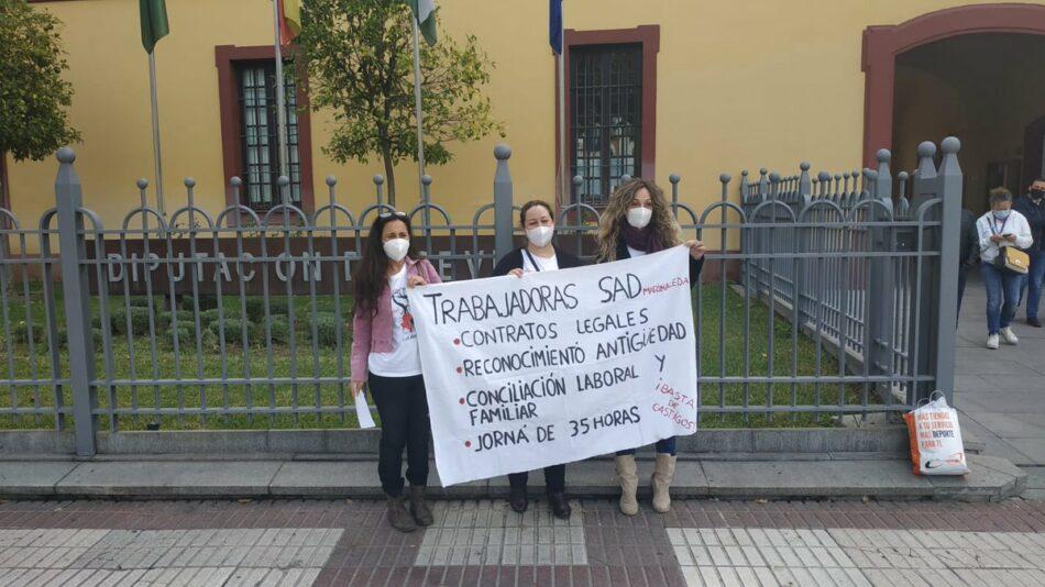 CGT reitera sus denuncias de invisibilización del Servicio de Ayuda a Domicilio en Andalucía con motivo del 8M