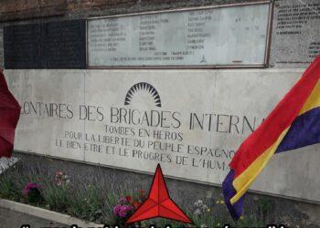 Ante la pretensión de Vox de retirar los elementos de homenaje a las Brigadas Internacionales en el cementerio de Fuencarral