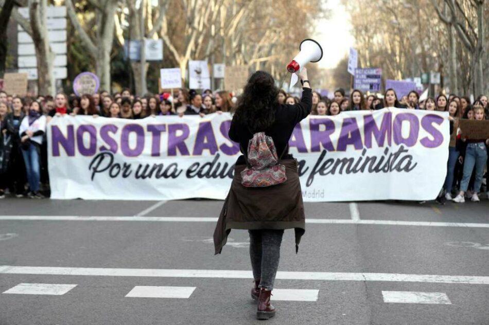 IU Madrid y el PCM manifiestan su apoyo a la Comisión 8M de Madrid ante la prohibición de las movilizaciones del 8 de marzo por la Delegación de Gobierno