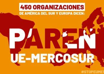 Declaración de la Coalición Stop UE-Mercosur