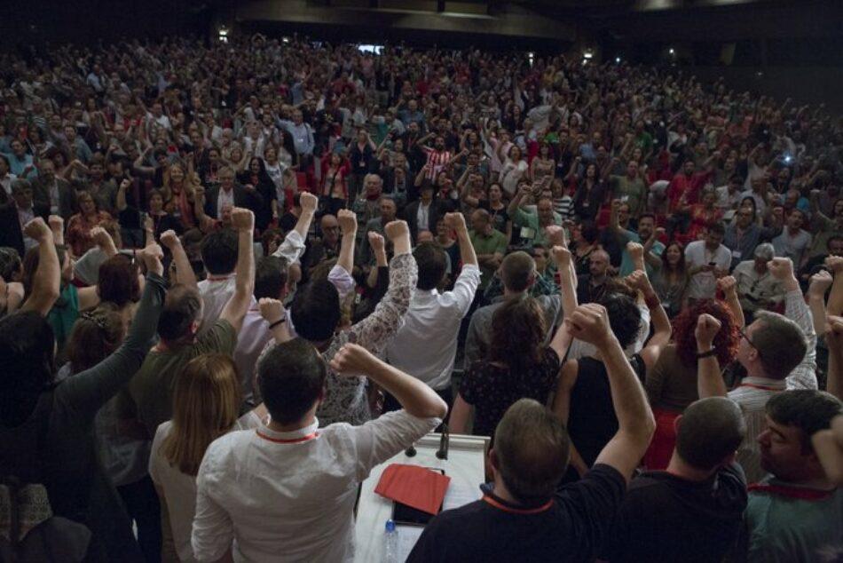 La candidatura encabezada por Alberto Garzón para dirigir Izquierda Unida los próximos cuatro años vence con un 76,26% de los votos de la XII Asamblea Federal