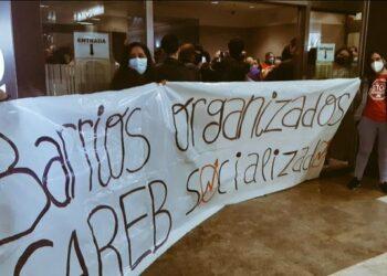 El movimiento por la vivienda de Madrid lanza la campaña #PlanSareb y ocupa la sede del FROB