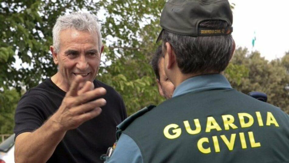 """Diego Cañamero (SAT): """"Una parte importante de las fresas de Huelva están regadas con lágrimas y sufrimiento de miles de mujeres"""""""