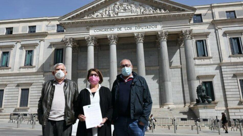 Más País Verdes Equo presenta una proposición no de ley para pedirle al Gobierno una Ley Integral del Amianto