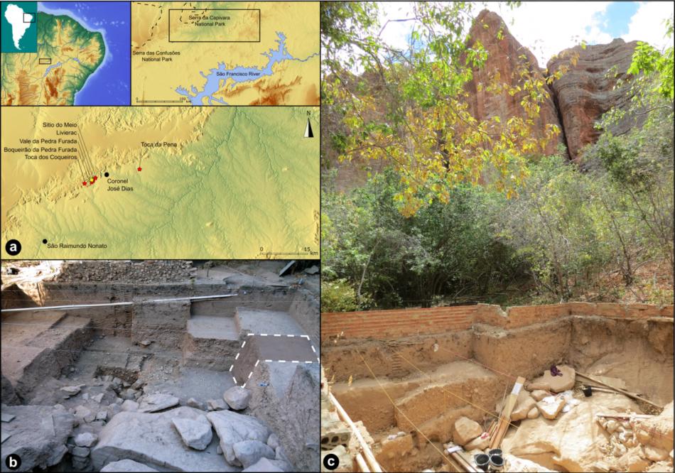 Hallan un enigmático artefacto de piedra de 24.000 años en Vale da Pedra Furada en Brasil