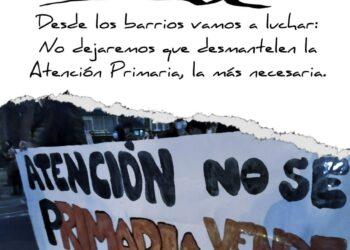 Nueva manifestación frente al Centro de Salud Abrantes (Madrid) ante el «sabotaje» de la Consejería de Sanidad hacia la Atención Primaria