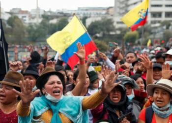 La mujer protagoniza lucha por los derechos humanos en Ecuador