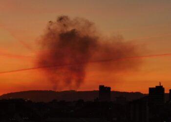 El Principado miente cuando dice que en Gijon no se rebasan los limites legales de contaminación del aire