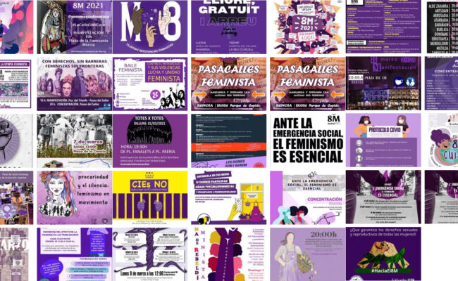 Convocatorias 8 de marzo 2021 – Día Internacional de las Mujeres