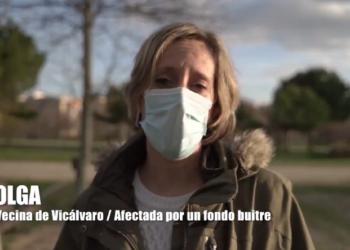 """""""El fondo buitre HipoGes Iberia se niega a negociar con una vecina vulnerable de Vicálvaro y quiere echarla de su casa forzando la subasta en proceso judicial"""""""
