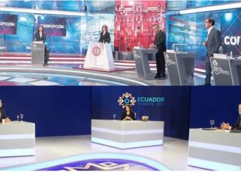 Así fueron los debates presidenciales en Perú y Ecuador