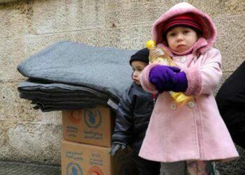 Entregan ayuda alimentaria a miles de familias en Siria