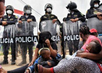 Sorpresivo movimiento de protesta en Puerto Príncipe (Haití) para exigir la salida del gobierno de Jovenal Moïse