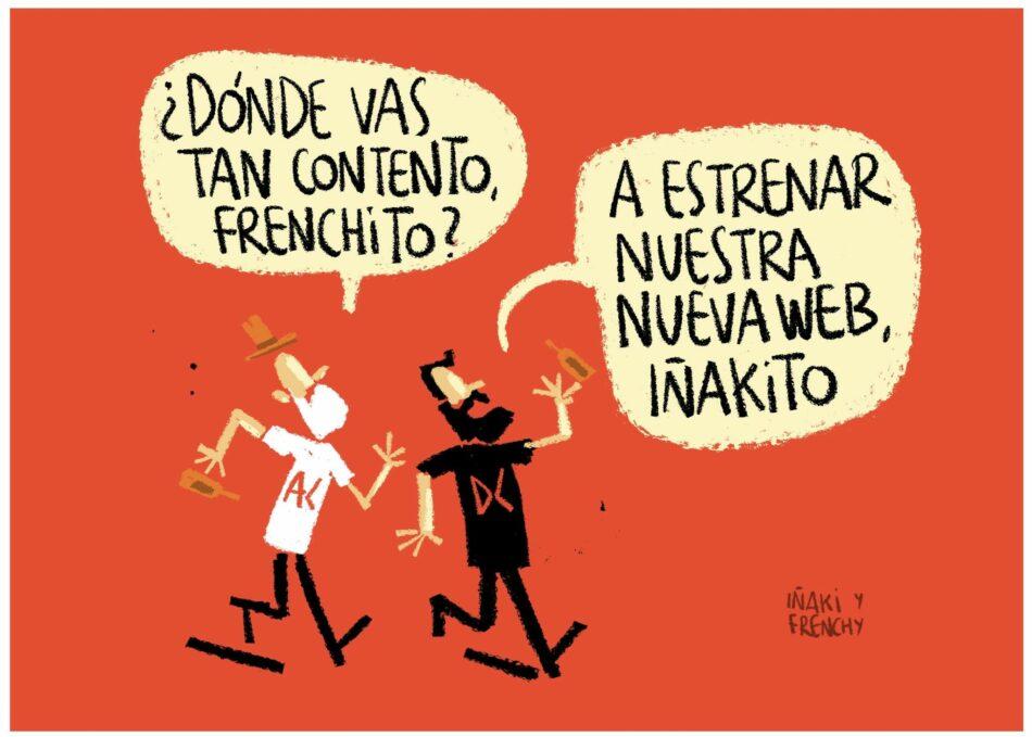 Nuestros ilustradores Iñaki y Frenchy estrenan nueva web